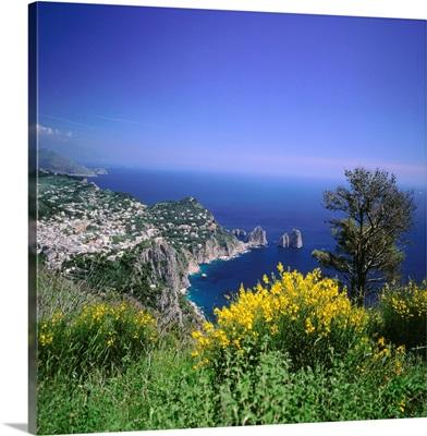 Italy, Campania, Capri, Faraglioni