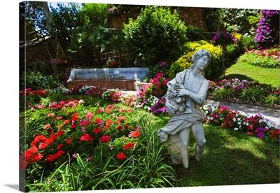 Italy, Campania, Capri, Napoli district, coast, Augusto Gardens