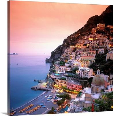 Italy, Campania, Positano, Amalfi coast