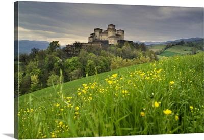 Italy, Emilia-Romagna, Langhirano, Castle of Torrechiara