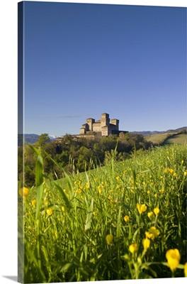Italy, Emilia-Romagna, Langhirano, The Castle of Torrechiara