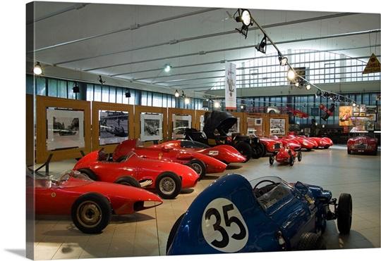 Italy, Emilia Romagna, Modena, Stanguellini Museum, race cars Wall ...