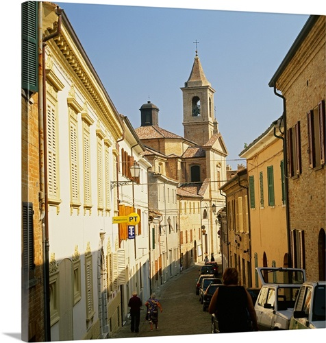 Italy, Emilia-Romagna, Saludecio Wall Art, Canvas Prints, Framed ...