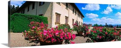 Italy, Florence, Villa Medicea La Petraia