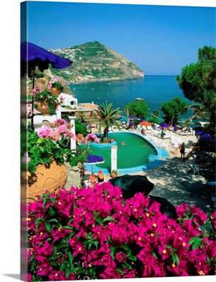 Italy, Ischia, Sant'Angelo, thermal spring, Aphrodite