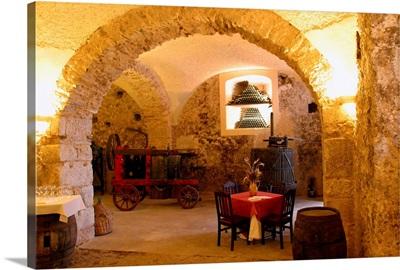 Italy, Latium, Atina, Visocchi cellar
