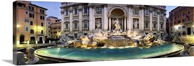 Italy, Latium, Mediterranean area, Roma district, Rome, Trevi Fountain