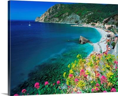 Italy, Liguria, Monterosso al Mare, beach