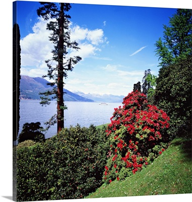 Italy, Lombardy, Como district, Villa Melzi