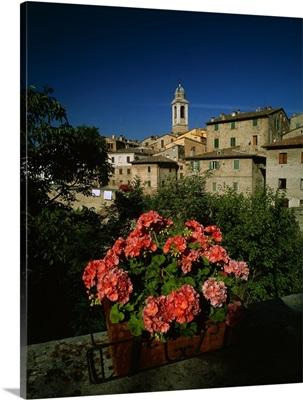 Italy, Marche, Urbania, Ponte Vecchio district