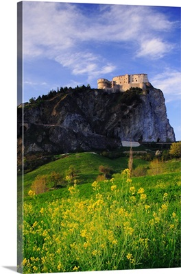 Italy, Marches, Montefeltro, San Leo, The castle