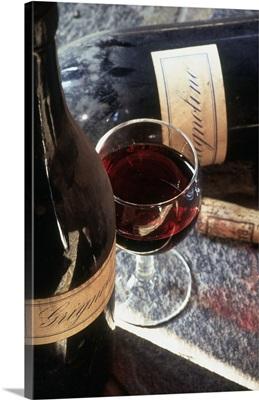 Italy, Piedmont, Grignolino wine