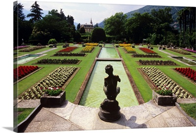 Italy, Piedmont, Lake Maggiore, Verbania, Villa Taranto's gardens