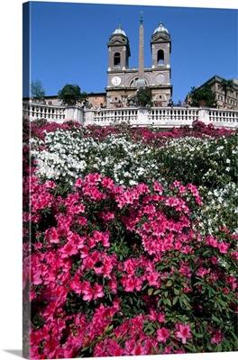 Italy, Rome, Piazza di Spagna, Trinita dei Monti