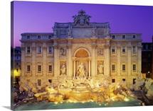 Italy, Rome, Trevi Fountain, Fontana di Trevi