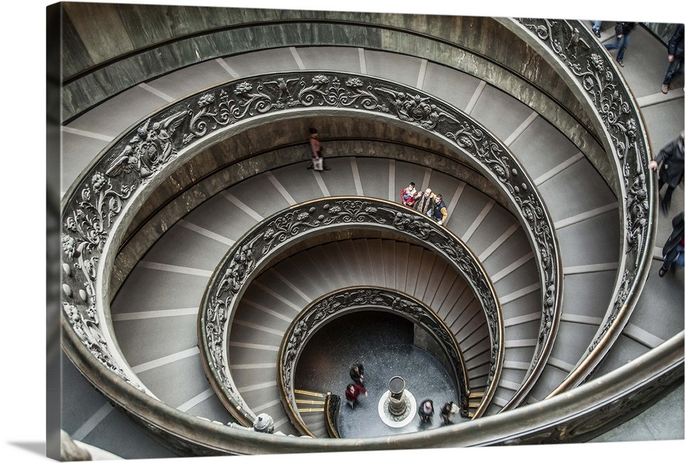 Italy, Rome, Vatican Museums, Vatican City, The Spiral Staircase