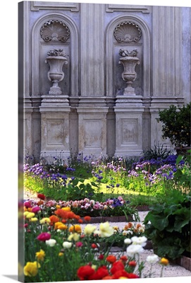 Italy, Rome, Villa Borghese, Secret gardens