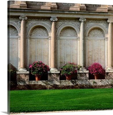 Italy, Rome, Villa Giulia, park and azalea, garden