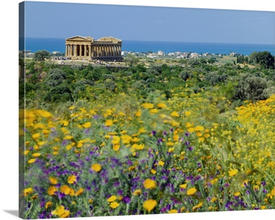 Italy, Sicily, Agrigento, Valley of the Temples, Temple of Concordia