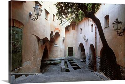 Italy, Sicily, Cefalu, building