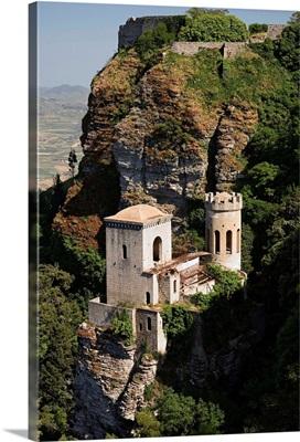 Italy, Sicily, Erice town, Torretta Pepoli