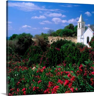 Italy, Sicily, Lampedusa, Madonna Porto Salvio Sanctuary in Lampedusa island