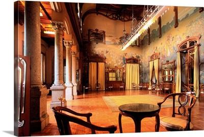 Italy, Sicily, Palermo, Grand Hotel Villa Igiea, Parties Hall, Salone delle Fezte