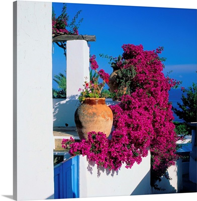 Italy, Sicily, Panarea, typical house