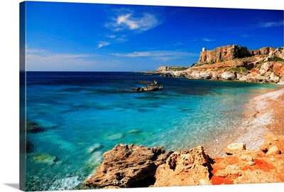 Italy, Sicily, San Vito lo Capo, Macari gulf