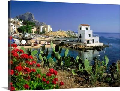 Italy, Sicily, Sant'Elia, village near Capo Zafferano