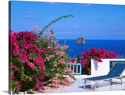 Italy, Sicily, Stromboli island, Strombolicchio islet