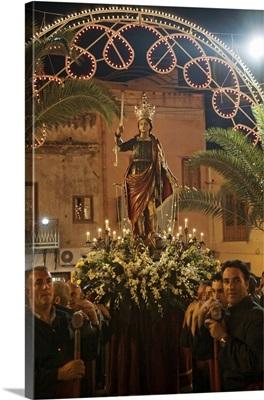 Italy, Sicily, Trapani, San Vito Lo Capo, San Vito procession