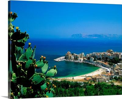 Italy, Sicily, view of Castellammare del Golfo