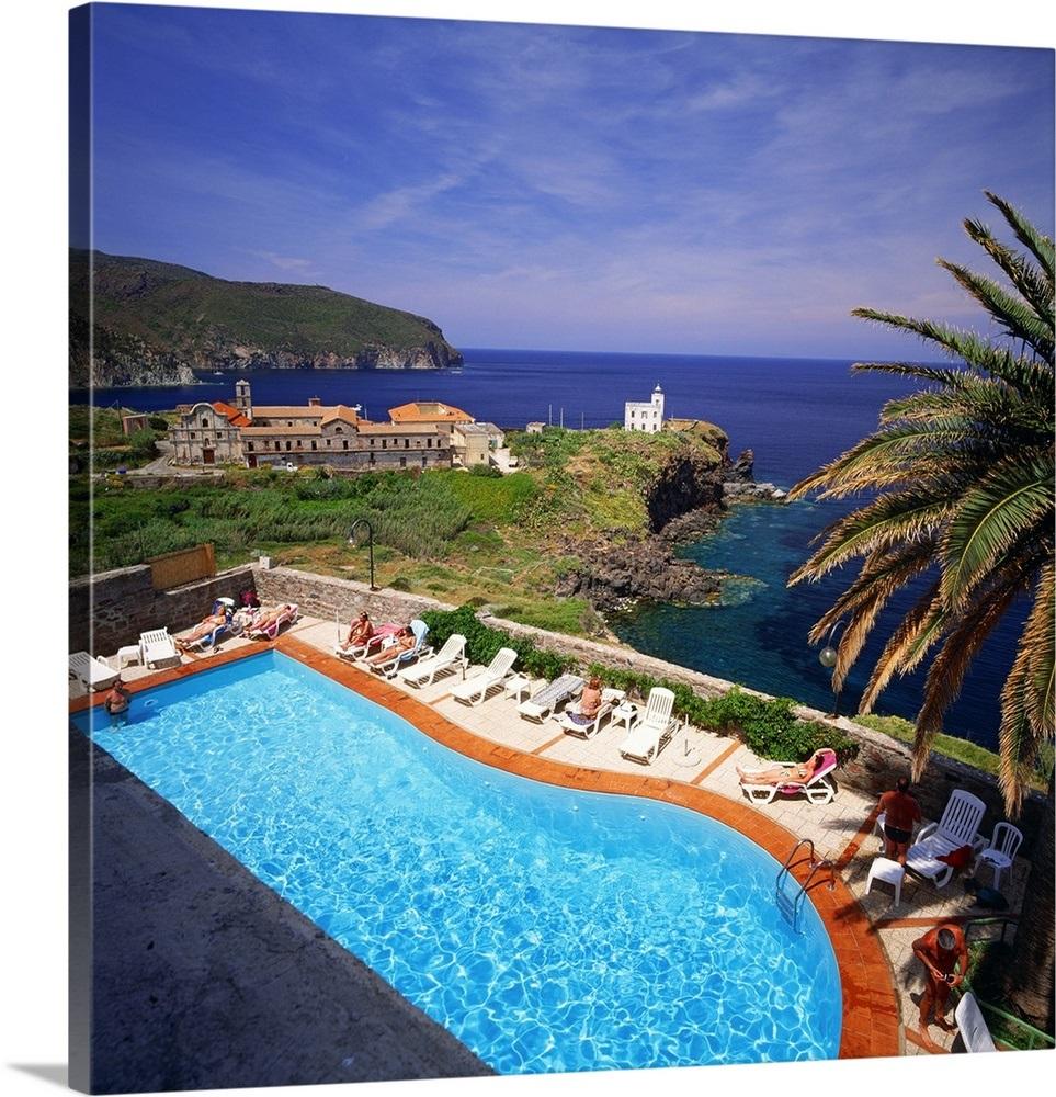 Italy, Tuscany, Il Saracino Hotel Wall Art, Canvas Prints ...