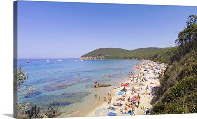 Italy, Tuscany, Maremma, Cala Violina beach