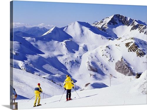 Italy Tuscany Pistoia Abetone Ski Resort Val Di Luce Wall Art Canvas Prints Framed Prints Wall Peels Great Big Canvas