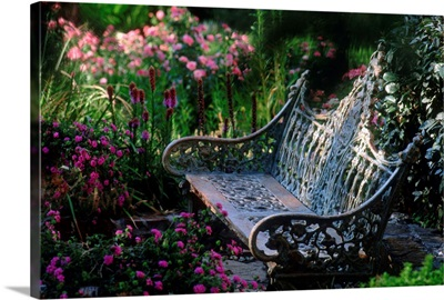 Italy, Tuscany, Private garden