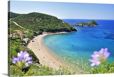 Italy, Tuscany, Tuscan Archipelago National Park, Capoliveri, Innamorata beach