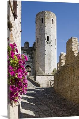 Italy, Umbria, Perugia district, Spello, Torri di Properzio, tower
