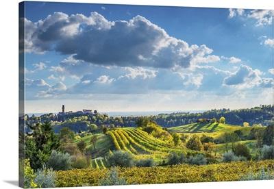 Italy, Veneto, Prosecco Road, Treviso district, Susegana