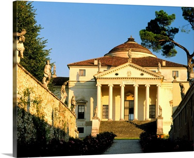 Italy, Veneto, Villa Almerico Capra, ora Valmarana, La Rotonda, architect Palladio