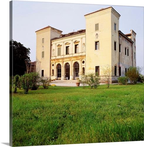 Italy, Veneto, Villa Badoer Trissino by Andrea Palladio architect ...