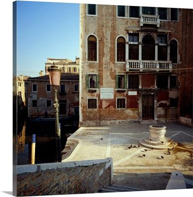 Italy, Venice, Campo San Boldo