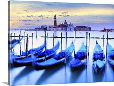 Italy, Venice, San Giorgio Maggiore, View from San Marco