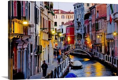Italy, Venice, Venetian Lagoon, Adriatic Coast, Rio Marin