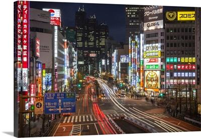 Japan, Kanto, Tokyo, Shinjuku cityscape