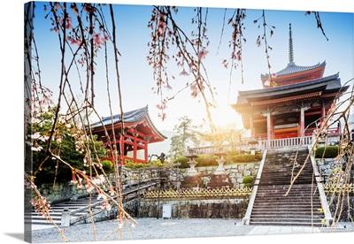 Japan, Kyoto, Kiyomizu-Dera Temple
