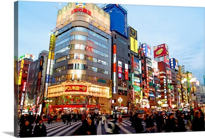Japan, Tokyo, Shinjuku neighborhood