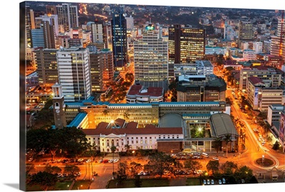 Kenya, Nairobi Area, Nairobi, Downtown