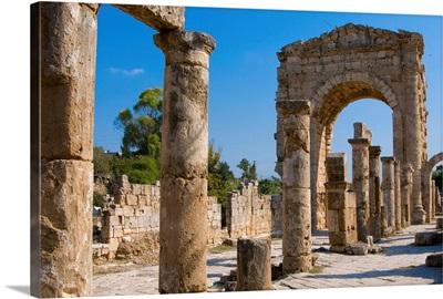 Lebanon, Al-Janub, Tyre, Archaeological site of al-Bass